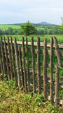 Broken fence Royalty Free Stock Image