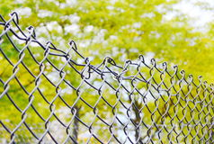 Broken fence Royalty Free Stock Photography