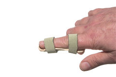 Broken Finger Royalty Free Stock Images