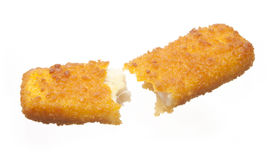 Broken Fish stick Royalty Free Stock Images