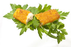 Broken Fish stick Royalty Free Stock Photography