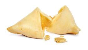 Broken Fortune cookie Royalty Free Stock Image