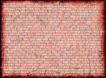 Broken frame of brick backgrounds Royalty Free Stock Photography