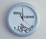 Broken funny clock. Royalty Free Stock Image
