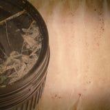 Broken gammal grunge för DSLR-kameralins Arkivbilder