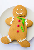 Broken Gingerbread cookie Royalty Free Stock Image