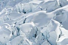 Broken glacier ice Royalty Free Stock Image
