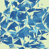 Broken glass. Texture, vector illustration Royalty Free Stock Image