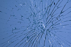 Broken glass Stock Image