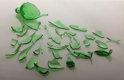 Broken glass Stock Images