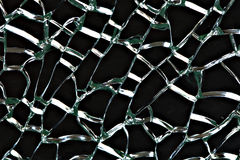 Broken glass. Stock Photography