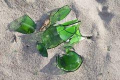 Broken glass. Royalty Free Stock Photo