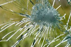 Free Broken Glass Royalty Free Stock Photography - 5301707
