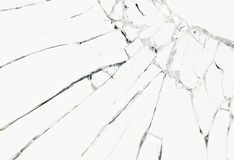 Broken glass. As a texture royalty free stock image