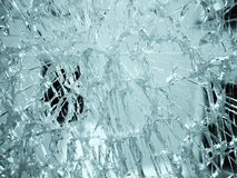 Broken glass background Royalty Free Stock Photo