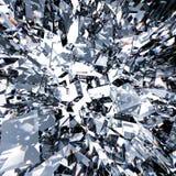Broken glass background. 3d rendering broken glass background stock photo