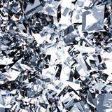Broken glass background. 3d rendering broken glass background Royalty Free Stock Images