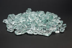 Broken glass blocks Royalty Free Stock Photography