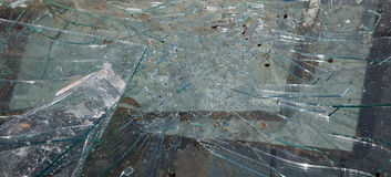 Broken glass, can be used as background Royalty Free Stock Photography