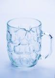 Broken glass close up stock photo