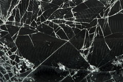 Broken glass Royalty Free Stock Image