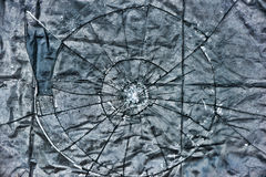 Broken Glass Grunge Layer Stock Image