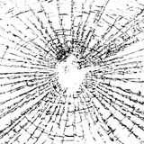 Broken glass grunge texture black white. Broken glass grunge texture white and black. Sketch abstract to Create Distressed Effect. Overlay Distress grain royalty free illustration