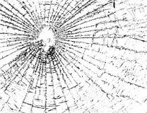 Broken glass grunge texture white and black Stock Photo