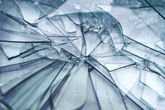 Broken glass Stock Photography