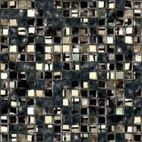 Broken glass mosaic royalty free illustration