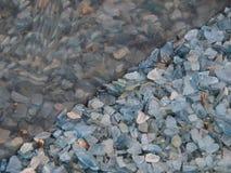 broken glass reflexion arkivbild