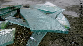 Broken glass. It resembles to broken dreams for me Stock Images