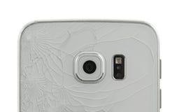 Broken glass of smartphone Stock Photography