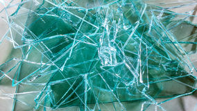 Broken Glass stack Royalty Free Stock Photos