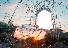 Broken glass Royalty Free Stock Photo