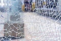 Broken glass Stock Image
