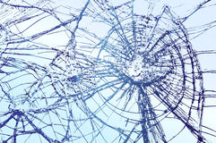Broken Glass Vector Stock Photography