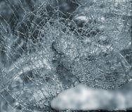 Broken glass window royalty free stock photography