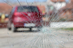 Broken glass Royalty Free Stock Photo