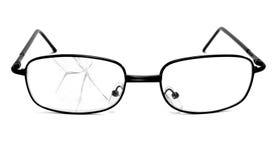 Broken glasses Royalty Free Stock Image