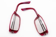 Broken glasses Royalty Free Stock Photo