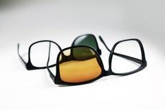 Broken glasses royalty free stock images
