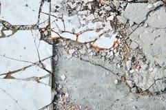 Broken Glaze Dalle Stock Photos
