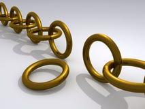 Broken Gold Chain