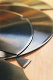 Broken gramophone records Royalty Free Stock Photo