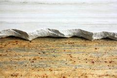 Broken granite background stonecutter. Close up of broken granite stock photos