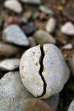 Broken gravel. On the beach of Sõrve peninsula (Sõrve poolsaar) in Estonia, Europe Royalty Free Stock Photo