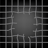 Broken grid Royalty Free Stock Image
