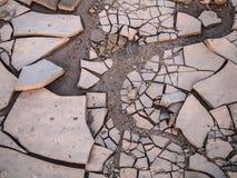 Broken. Ground near Purros, Namibia Stock Photography