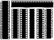 Broken grunge filmstrip  Royalty Free Stock Photos
